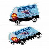 Fridge Magnet 90 x 55mm – Van Shape TR