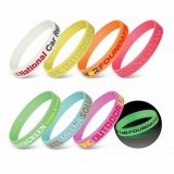 Silicone Wrist Band – Glow in the Dark tr
