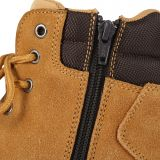 JB'S STEELER ZIP LACE  SAFETY BOOT TAN