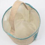 Glitter Jute Easter Bunny Bag
