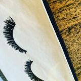 Lash Canvas Cosmetic Bag